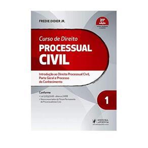 Livro Curso de Direito Processual Civil V.1