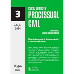 Livro - Curso de Direito Processual Civil: Vol.3