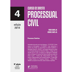Livro - Curso de Direito Processual Civil: Vol. 4