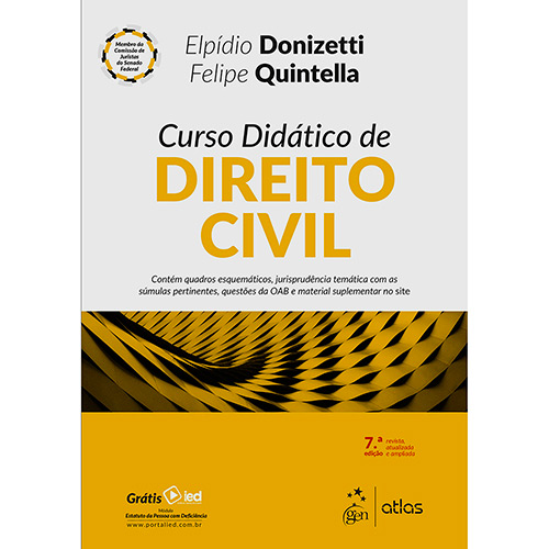 Livro - Curso Didático de Direito Civil