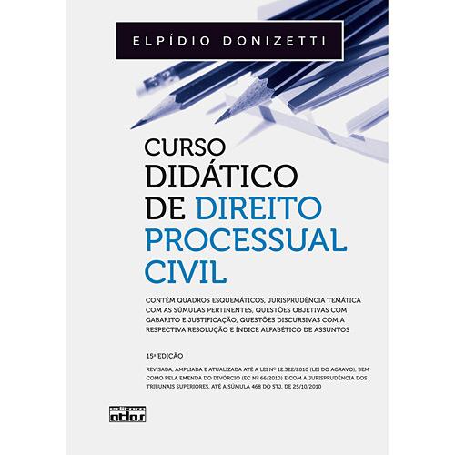 Livro - Curso Didático de Direito Processual Civil