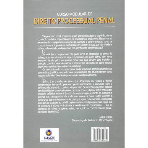 Livro - Curso Modular de Direito Processual Penal