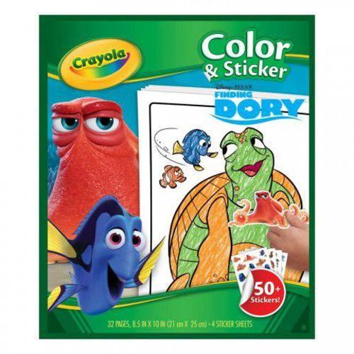Tudo sobre 'Livro de Colorir Dory Crayola'