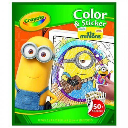 Livro de Colorir Minions Crayola