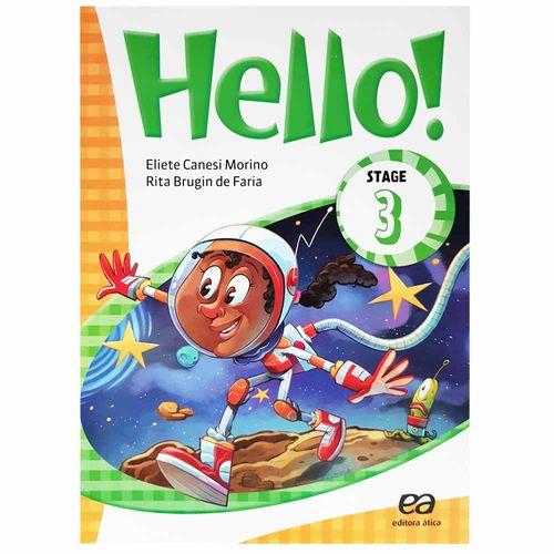 Livro de Inglês Hello! Stage 3 1020841