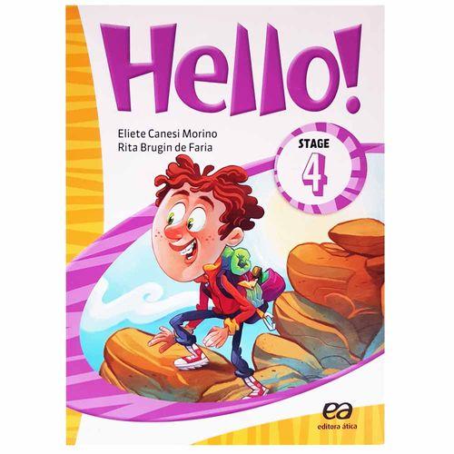 Livro de Inglês Hello! Stage 4 190181