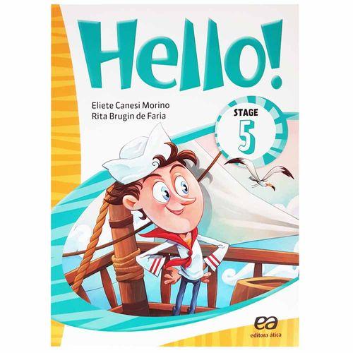 Livro de Inglês Hello! Stage 5 1004148