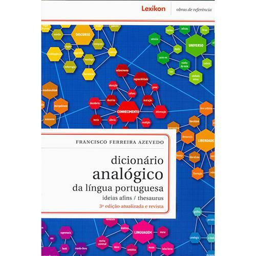 Livro - Dicionário Analógico da Lingua Portuguesa