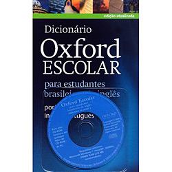 Livro - Dicionário Oxford Escolar: para Estudantes Brasileiros de Inglês