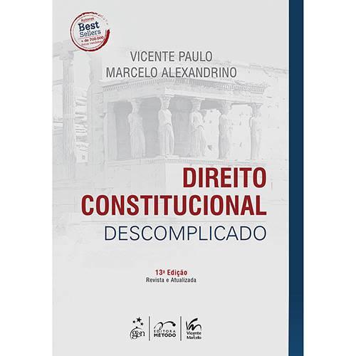 Tudo sobre 'Livro - Direito Constitucional Descomplicado'