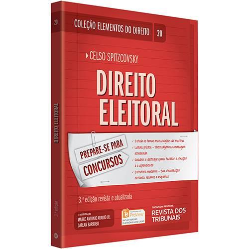Tudo sobre 'Livro - Direito Eleitoral (Elementos do Direito)'
