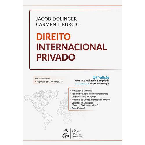 Tudo sobre 'Livro - Direito Internacional Privado'