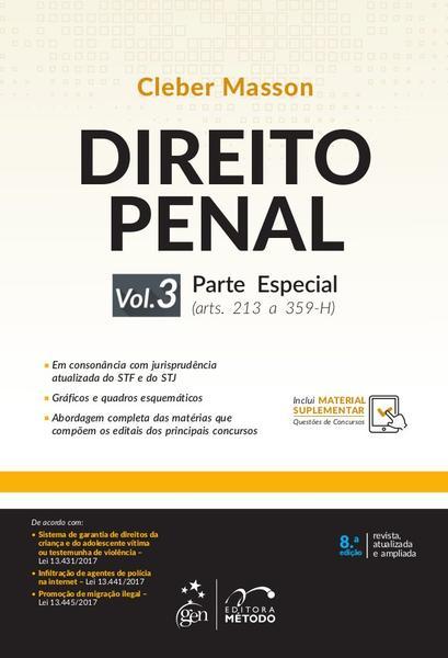 Livro - Direito Penal - Parte Especial - Vol. 3