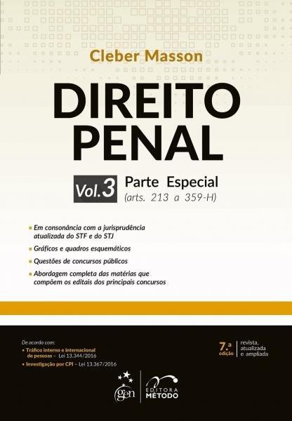Direito Penal - Parte Especial, V.3 - Metodo