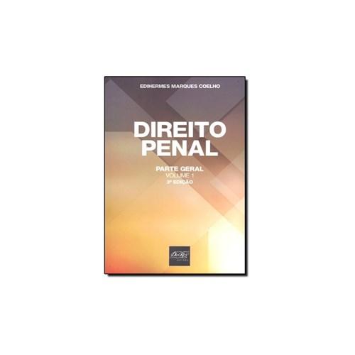 Livro - Direito Penal: Parte Geral - Vol.1