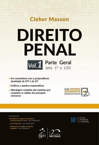 Livro - Direito Penal - Parte Geral - Vol. 1