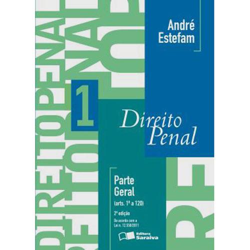 Livro - Direito Penal: Parte Geral - Vol. 1