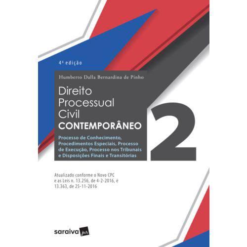 Livro - Direito Processual Civil Contemporâneo - Pinho