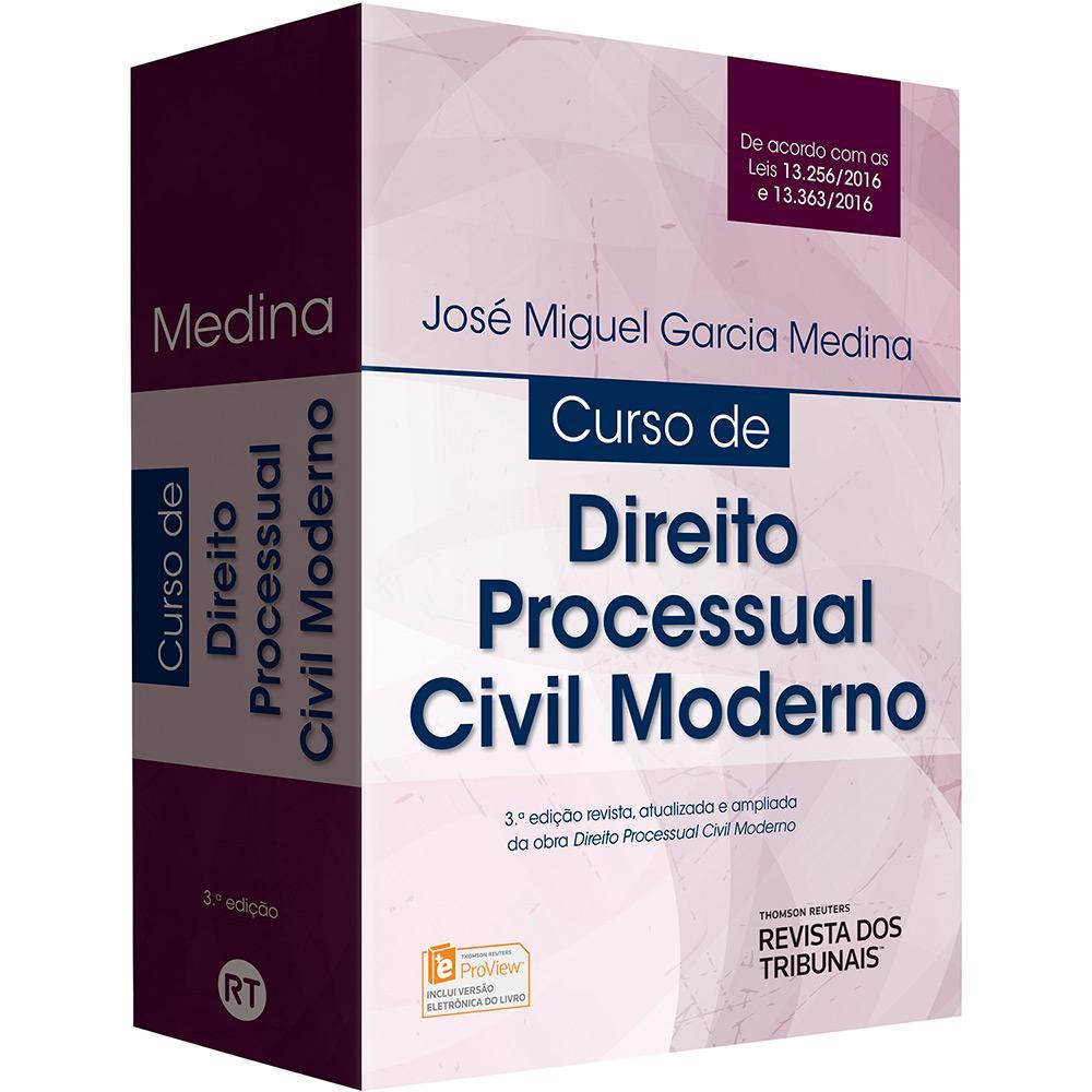 Livro - Direito Processual Civil Moderno