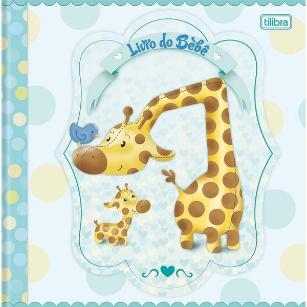 Livro do Bebê 34 Folhas Boys - Tilibra