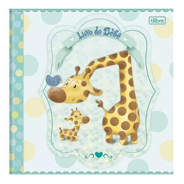 Livro do Bebe 34 Folhas Menino Tilibra