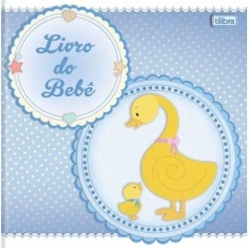 Livro do Bebê Menino 34 Folhas 12421-4 Tilibra