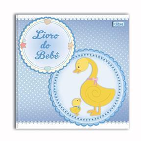 Livro do Bebê Menino com 34 Folhas Tilibra