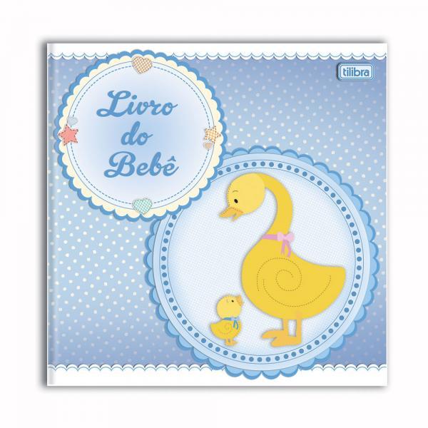 Livro do Bebê Menino 34 Folhas Tilibra
