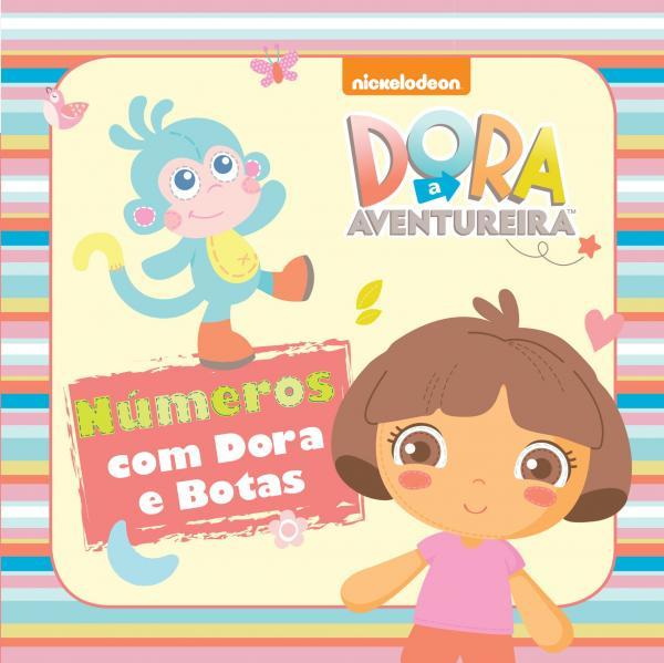 Livro - Dora Infant - Números com Dora e Botas