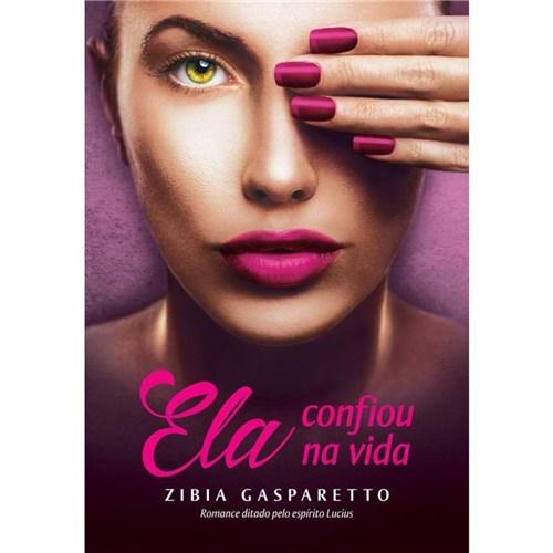 Livro Ela Confiou na Vida