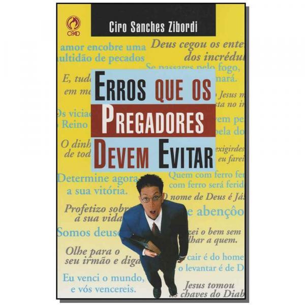 Livro - Erros que os Pregadores Devem Evitar - Cpad