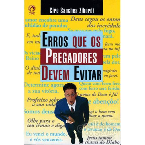 Livro - Erros que os Pregadores Devem Evitar