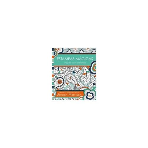 Livro - Estampas Magicas Livro para Colorir Colorir Antiestresse