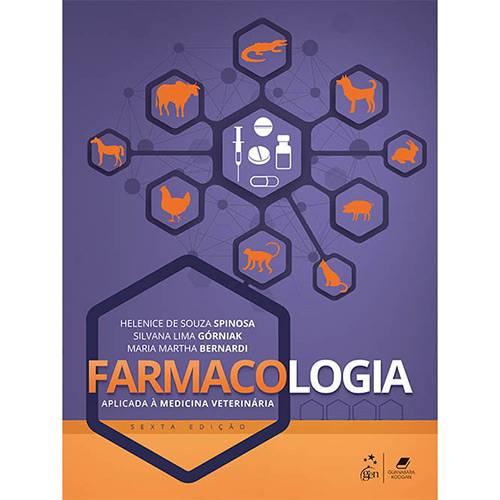 Tudo sobre 'Livro - Farmacologia: Aplicada à Medicina Veterinária'