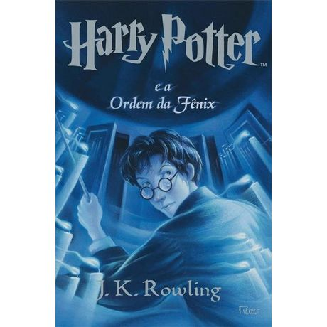 Tudo sobre 'Livro Harry Potter e a Ordem da Fênix'