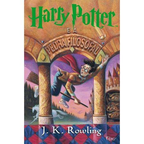 Tudo sobre 'Livro Harry Potter e a Pedra Filosofal'