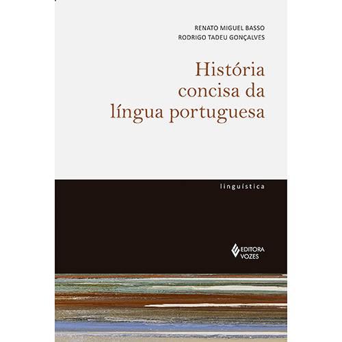 Livro - História Concisa da Língua Portuguesa