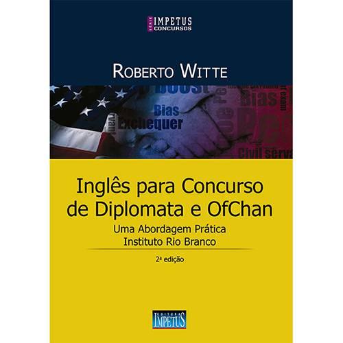 Tudo sobre 'Livro - Inglês para Concursos de Diplomata e OfChan'
