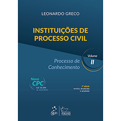 Livro - Instituições de Processo Civil: Processo de Conhecimento - Vol. 2