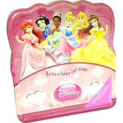 Livro - Leia e Brinque com Disney - Princesas