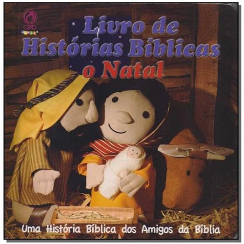 Livro - Livro de Historias Biblicas - o Natal