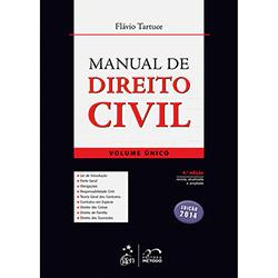 Livro - Manual de Direito Civil: Volume Único