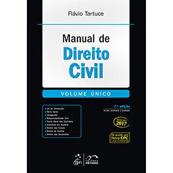 Livro - Manual de Direito Civil (Volume Único)