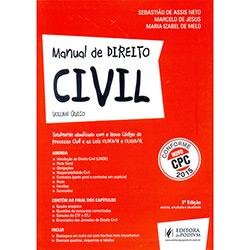 Livro - Manual de Direito Civil - Volume Único