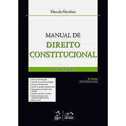 Livro - Manual de Direito Constitucional - Volume Único