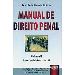 Livro - Manual de Direito Penal - Vol.II