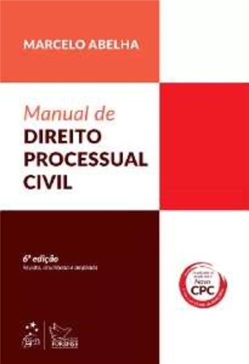 Livro - Manual de Direito Processual Civil - Abelha
