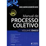 Livro - Manual de Processo Coletivo: Volume Único