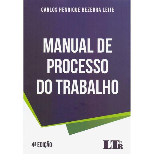 Livro - Manual de Processo do Trabalho