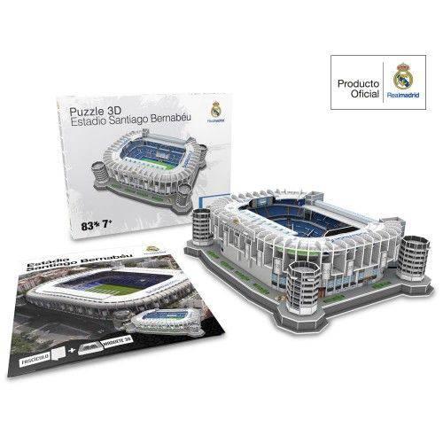 Tudo sobre 'Livro Maquete 3D Estádio Bernabéu 83'